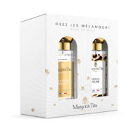"Gift box duo MIX AND MATCH 2 30ml perfumes ""The perfect woman"" and ""Gentle feline"" by Margot&Tita. Discover a floral and oriental meeting."