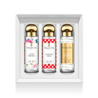 "Trio gift box Best seller with 3 30ml perfumes ""There was a rose"", ""So we dance"" and ""The perfect woman"" by Margot&Tita."