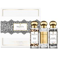 "Trio gift box Seduction game with 3 30ml perfumes ""Gentle feline"", ""I love you… me neither"" and ""Lessons in charm"" by Margot&Tita. Discover oriental and floral notes."