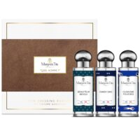 "Trio gift box for men with 3 30ml perfumes ""Life's a beach"", ""Absolute seducer"" and ""Dandy chic"" by Margot&Tita. Discover woody and marine notes."