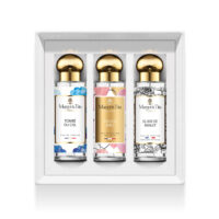 "Trio gift box There is joy with 3 30ml perfumes ""Fell from the sky"", ""There is joy"" and ""Midnight elixir"" by Margot&Tita. Discover fruity, sweet and oriental notes."