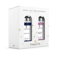 """Gift box duo dare to mix 2 30ml perfumes """"Dandy chic"""" and """"Mr French"""" by Margot&Tita. Discover a woody meeting."""