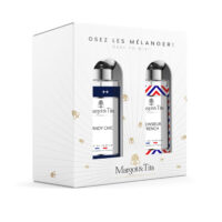 "Gift box duo MIX AND MATCH 2 30ml perfumes ""Dandy chic"" and ""Mr French"" by Margot&Tita. Discover a woody meeting."