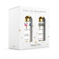 """Gift box duo MIX AND MATCH 2 30ml perfumes """"There was a rose"""" and """"Mademoiselle Tita"""" by Margot&Tita. Discover a floral and oriental meeting."""