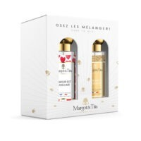 """Gift box duo MIX AND MATCH 2 30ml perfumes """"Love is in the air"""" and """"A weekend in Arcachon"""" by Margot&Tita. Discover a floral meeting."""